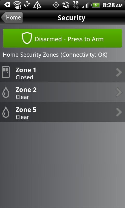 TWC IntelligentHome- screenshot