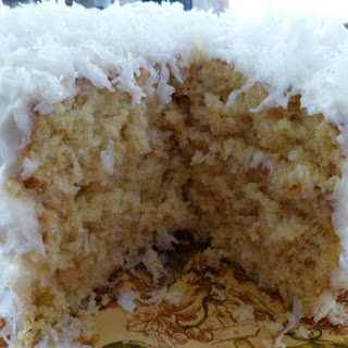 Coconut Frosted Cake Recipe