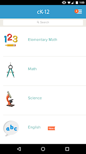 CK-12: Practice Math & Science- screenshot thumbnail