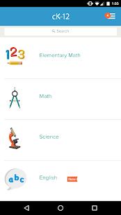 CK-12: Practice Math & Science - náhled