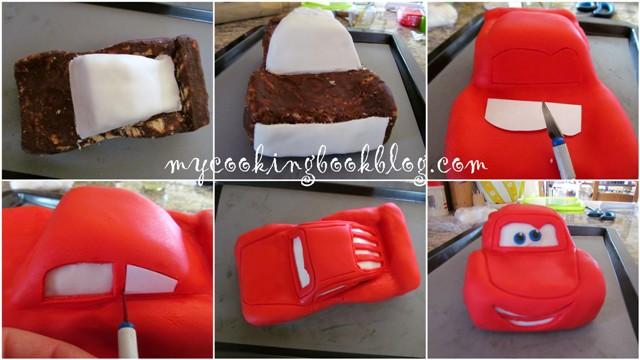 Торта Маккуин (Cake McQueen)