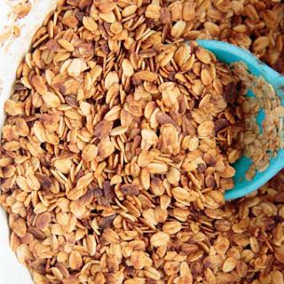 CrockPot Granola with Coconut Oil