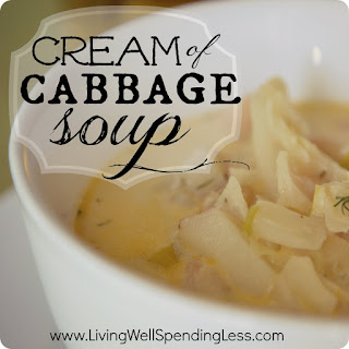 Cream of Cabbage Soup