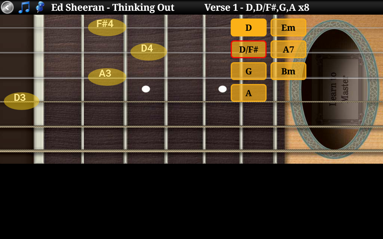 Guitar Tutor Pro - Learn Songs- screenshot