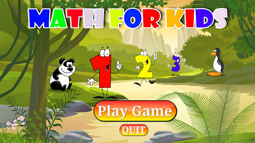 Math number for Kids free