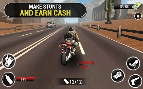 Autobahn Stunt Bike Rider Screenshot