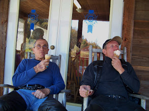 Photo: There's Nothing More Fearsome Than An Ice Cream Eating Biker Gang