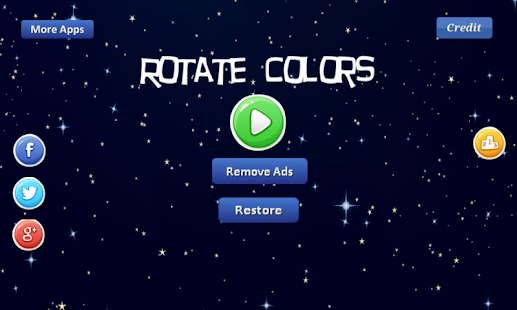 Rotate Colors - semi-circles - náhled