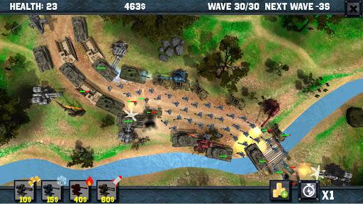 キャッスル ディフェンス :苦しい 戦争3D