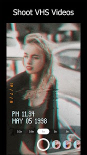 90s - Glitch VHS & Vaporwave Video Effects Editor Screenshot