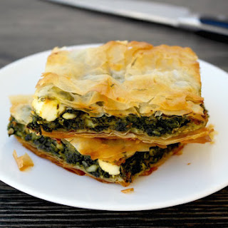 Greek Spinach and Feta Pie - Spanakopita