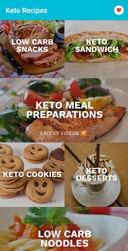 Keto recipes: Lite and easy Keto diet app 3.0.46 screenshots 1