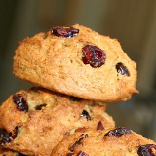 Sweet Potato Cranberry Nut Cookies