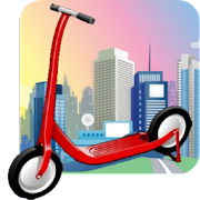 Scooter Racing® Roller Skate Game