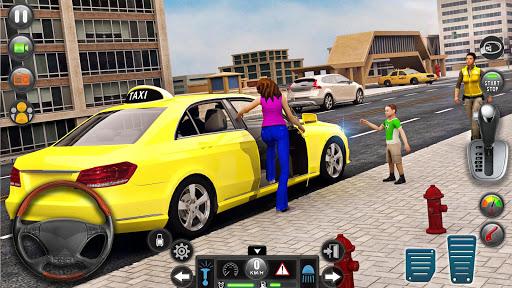 New Taxi Simulator u2013 3D Car Simulator Games 2020 filehippodl screenshot 2
