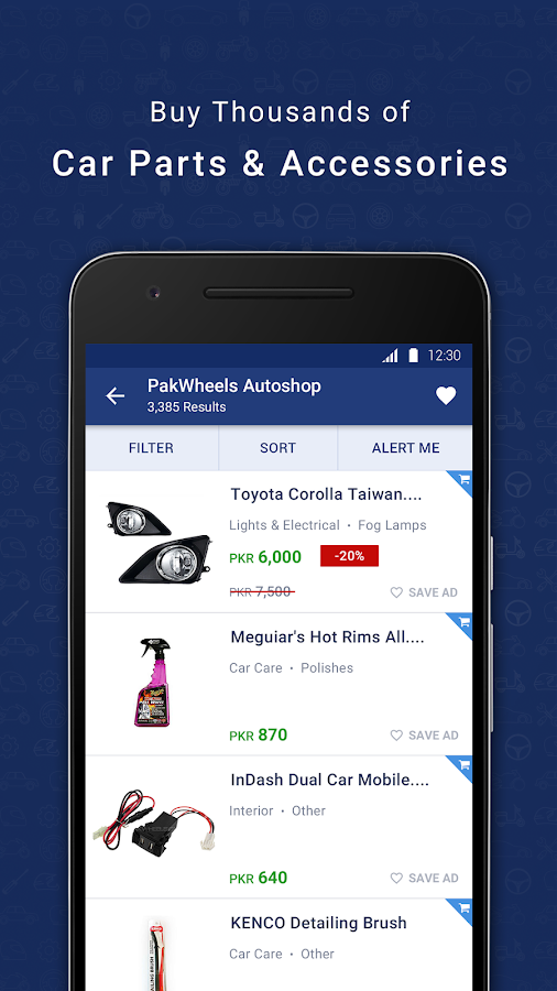 PakWheels: Buy & Sell Cars- screenshot