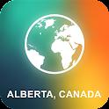 Alberta, Canada Offline Map icon