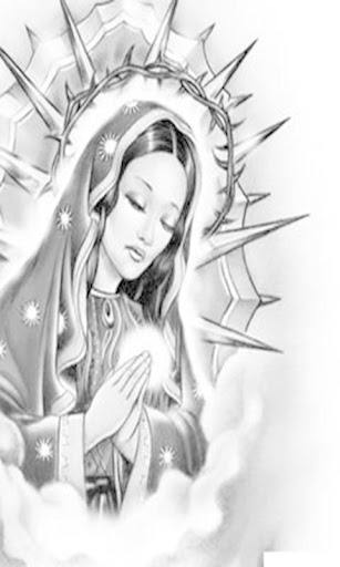 Download Virgen De Guadalupe Tattoos Black And White Google Play