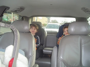 Photo: My travel companions are ready to go to the store.