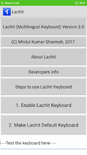 Lachit Multilingual Keyboard - náhled