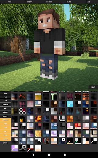 Custom Skin Creator For Minecraft  screenshots 7