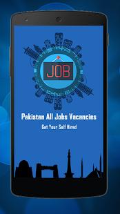 Pakistan All Job Vacancies - náhled