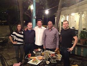 Photo: Austin, team dinner