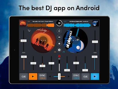 Cross DJ Free - dj mixer app Screenshot