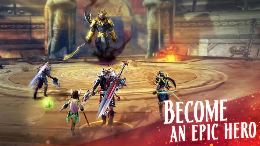 android ETERNITY WARRIORS 4 Screenshot 5