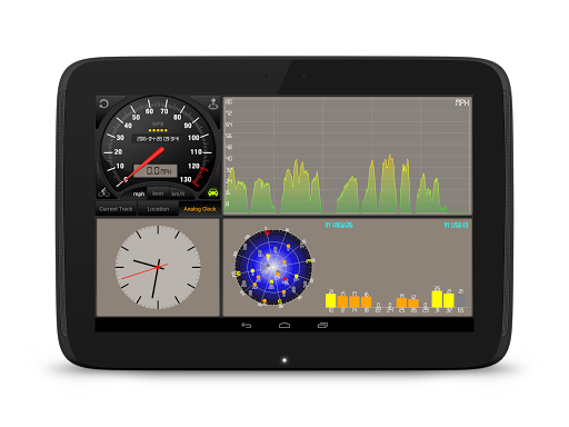 Speedometer GPS HD Pro Apps for Android screenshot