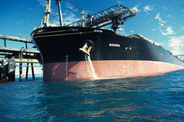 Cargo ship de-ballasting | CSIRO | Permission | Creative Commons Attribution 3.0 Unported license.
