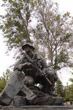 Photo: Memorial Park Soldier Statues