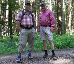 Photo: Franz und Martin kurz hinter  Hofstetten