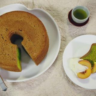 Green Tea Chiffon Cake.