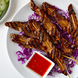 5-Ingredient Beef Satays Recipe