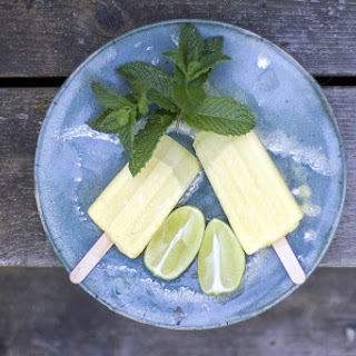Pineapple-Lime Popsicles Recipe