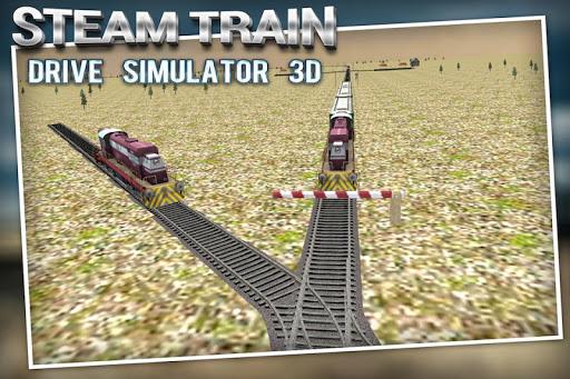 蒸汽火車駕駛模擬器3D