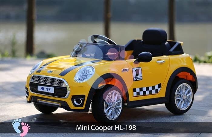 Xe oto điện trẻ em Mini Cooper HL-198 10