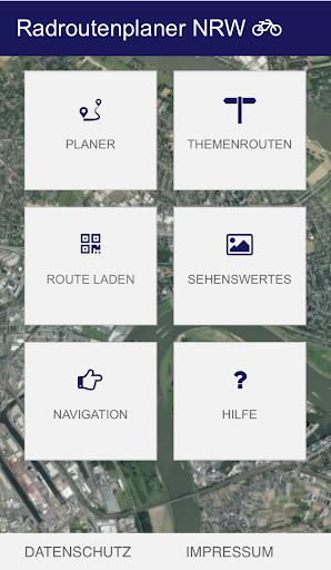 Radroutenplaner NRW mobil  screenshots 1