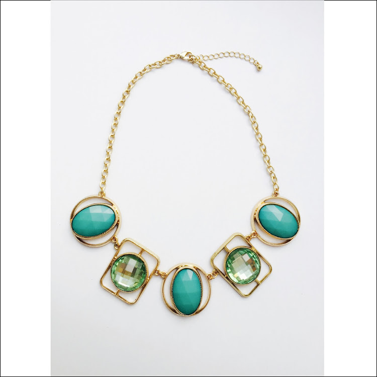 N010 - Gr. Oval Jade Necklace by House of LaBelleD.