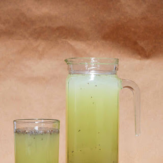Chia Lime Water.