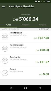 LLB Mobile Banking - náhled