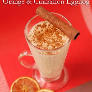 Orange & Cinnamon Eggnog