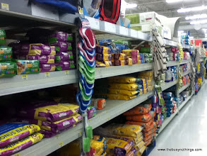 Photo: We were almost out of cat food, so we stopped and grabbed a bag.