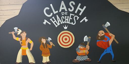 fresque clash de haches