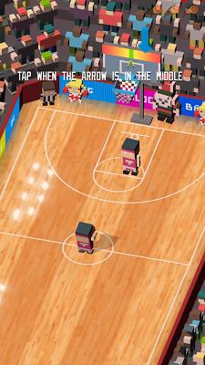 Blocky Basketball - Dunk Shot Mania - screenshot
