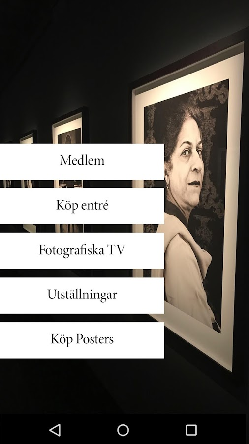 Fotografiska- screenshot