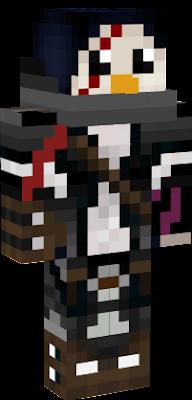 minecraft skins girl penguin