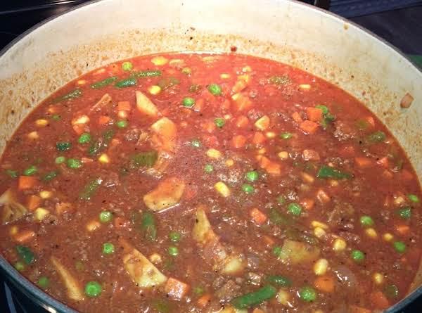 Venison Stew, Mexican Flavors
