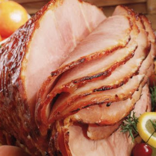 Glazed Baked Ham with Pineapple and Honey Recipe